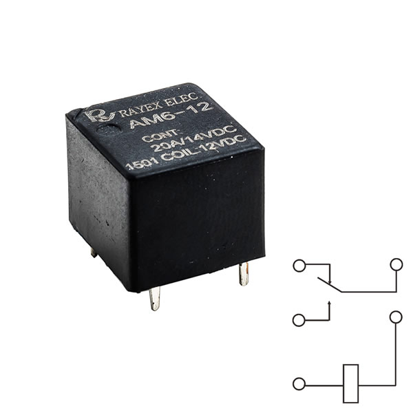 12 volt solid state automotive relay
